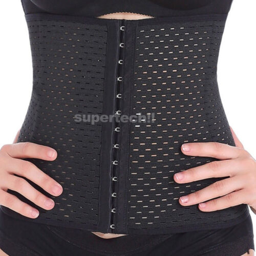 Women Corset Waist Trainer Tummy Girdle Belt Body Shaper Training Corset Trimmer