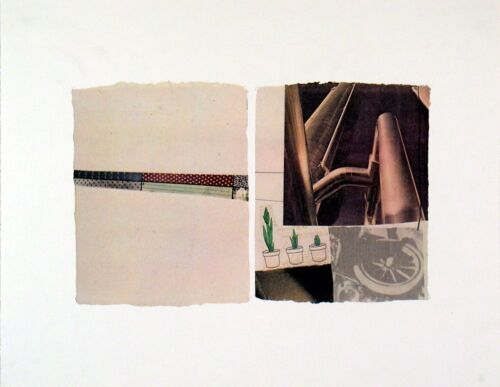 Robert Rauschenberg - Untitled, 1971 - Offset Lithograph Art Print 16x12.5