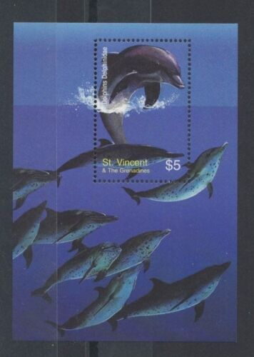 2003 Grenada St. Vincent & Grenadines, Dolphins SG 5285 MS MUH