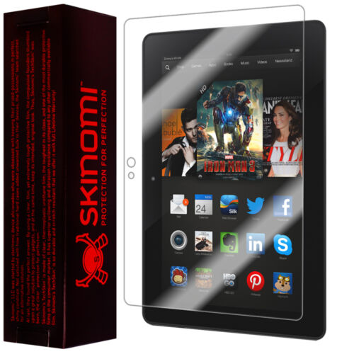"New Skinomi TechSkin Amazon Kindle Fire HDX 7"" (Wifi) Screen Protector"