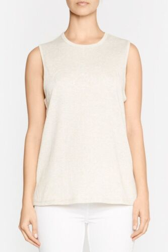 C&M Camilla And Marc Double Knit Jersey Logo Tank Size 8