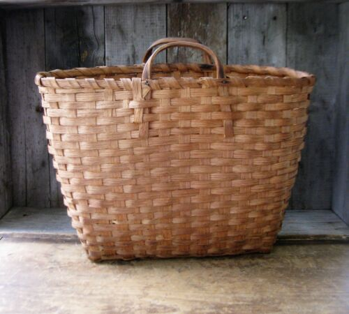 Early Antique Marketing Basket