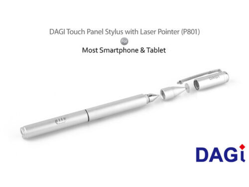 3 in 1 DAGi P801 Stylus Pen for HP Pavilion ENVY Dell Inspiron XPS G3 G5 Windows