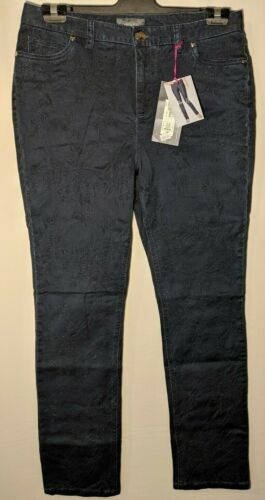 LADIES M/&S LIMITED EDITION SIZE 12 DISTRESSED CROPPED STRAIGHT JEANS FREE POST