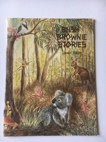 Bush Brownie Stories By Jean Haley ( Paperback) Signed Copy