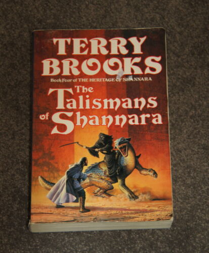 Large PB Book by Terry Brooks - The Talismans of Shannara - Book 4