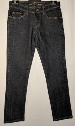 "WOMEN'S JEANS LEVI'S RED TAB STRAIGHT STRETCH SIZE 8 LEG 28"" FREE POSTAGE"
