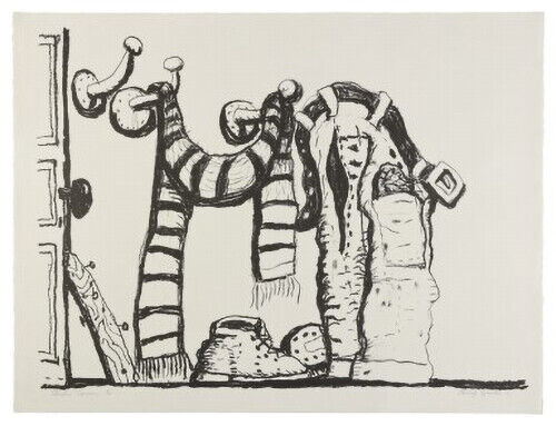 Philip Guston,Studio Corner, signed and numbered, 1980