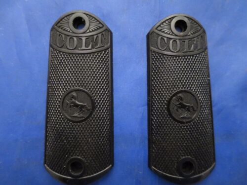 Colt 1902 Black Hard Molded Grips from a Gunsmiths estateOriginal Period Items - 13981