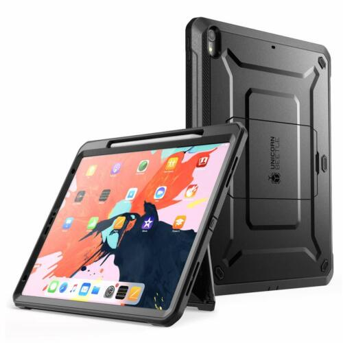 iPad Pro 12.9 Case 2018, Support Apple Pencil Charging Built-in Screen Protector