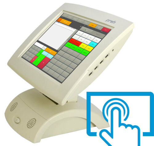 """12 """" Pos Display Monitor Preh 30,48 cm TFT 3M Touchscreen for Continuous Power"""