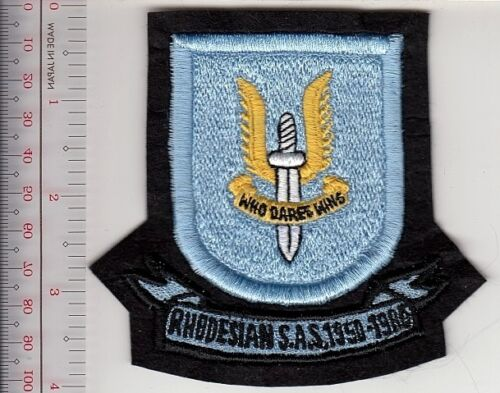 Rhodesia Army Rhodesian Defence Force RDF Special Force Light Infantry 1 CDO ABN