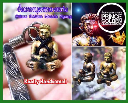 Thai Amulet Mercy Charm The Beneficial Function Of Ngang Wealth By Phra Arjarn O