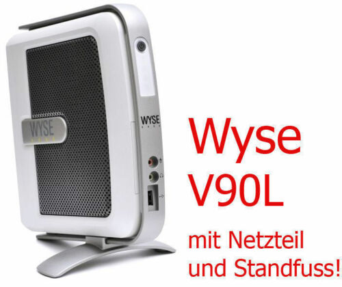 Small PC Thinclient Wyse V90L Windows Xpe DVI With RS-232 12VOLT Supply #TC3