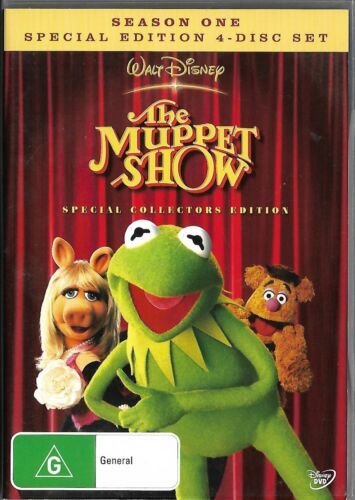 The Muppet Show Season One 4dvd set- Special Edition  (region 4)