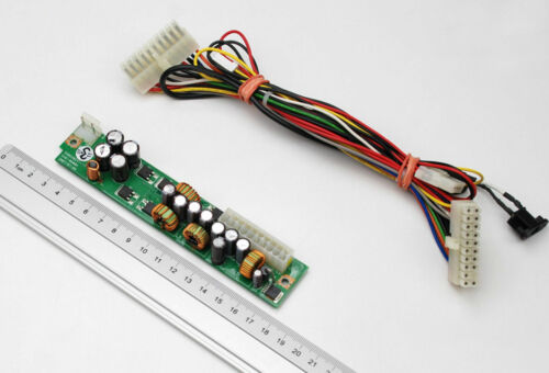 Dc-Dc Power Supply END-0608A 80 W 12 V Floating Voltage ATX 20PIN PSU & Cable