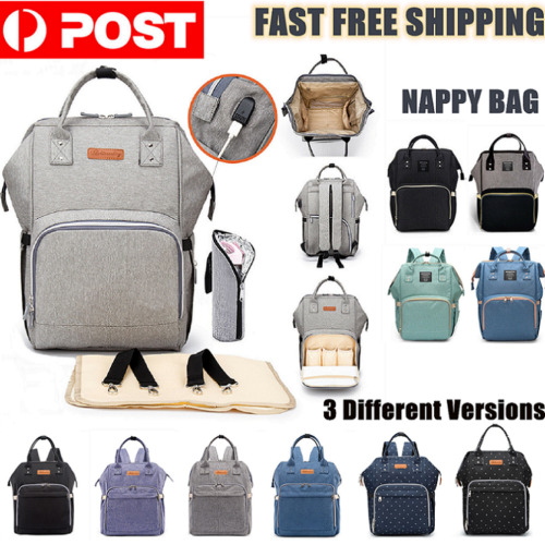 Luxury Multifunctional Baby Diaper Nappy Mummy Backpack Waterproof Changing Bag <br/> Brand Opening Sale ! Melbourne Stock ! 1 Year Warranty