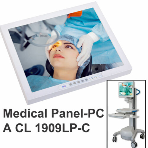 """Medical Computer Panel Pc Acl Or-Pc 1909lp-c 19 """" 48cm Elo Touch Screen Rs 232"""