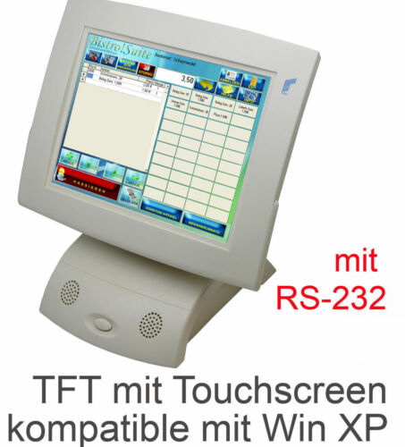 """12 """" Pos-Monitor Pos Monitor Preh 30,48CM TFT Elo Touch for Continuous Operation"""