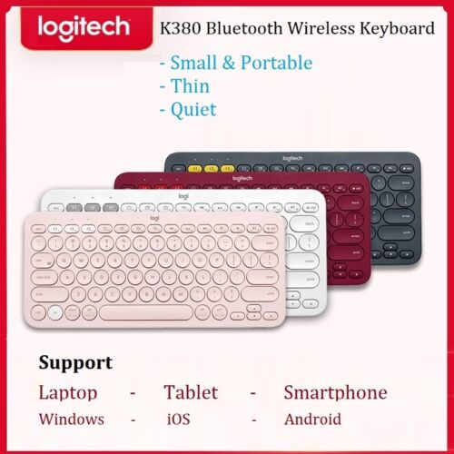 Logitech Bluetooth wireless keyboard K380 Multi-Device iPad Android iOS Tablet