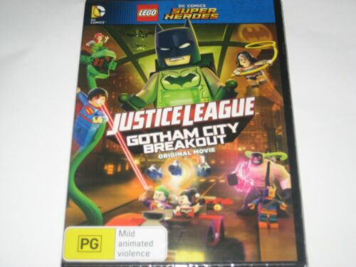 JUSTICE LEAGUE GOTHAM CITY BREAK OUT DVD R4 NEW/SEALED