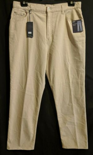 """WOMEN'S JEANS MARKS & SPENCER STRAIGHT STRETCH BROWN SIZE 18 LEG 29"""" NWT"""