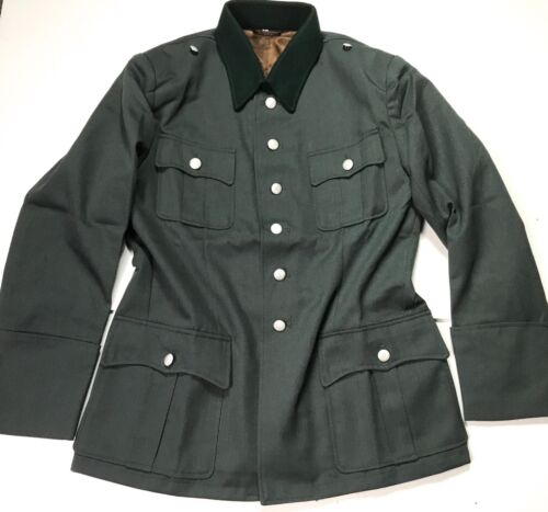 WWII GERMAN M1936 M36 OFFICER HEER WAFFEN TRICOT TUNIC- SIZE 2 (38-40R)Germany - 156432