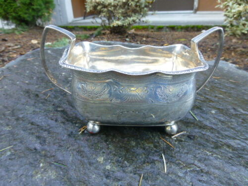 1810 Antique Georgian - Dublin Sterling Silver Handled bowl 299.1 Grams