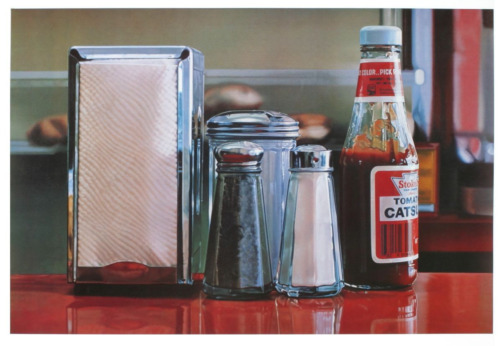Tomato Catsup, 1982 (Color Pick) by Ralph Goings Art Print Poster 27x36