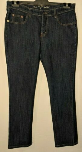 WOMEN'S JEANS LEVI'S RED TAB STRAIGHT STRETCH BLUE SIZE 14 LEG 28""