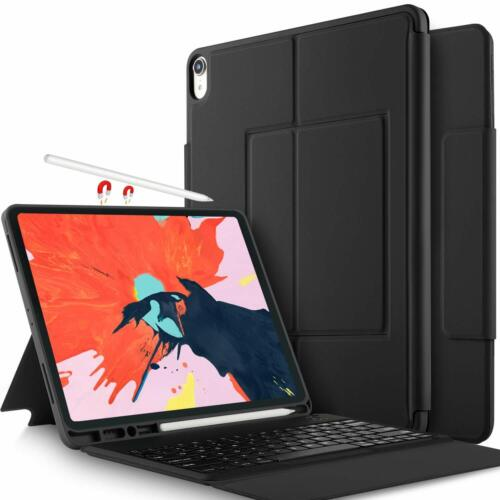 iPad pro 12.9 inch 2018 Case with Keyboard Magnetically Wireless Ultra-Slim GIFT