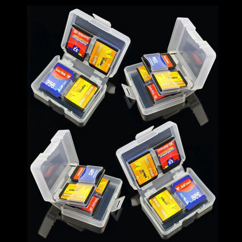 SD SDHC Memory Card Case Holder Hard Protective Box For 16gb 32gb 64gb Y1R2
