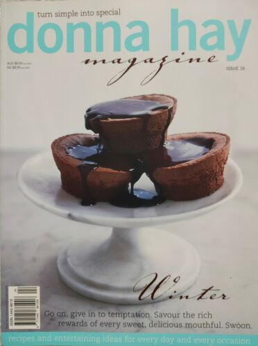 """Donna Hay Magazine~#16~""""WINTER"""" Sweet Delicious Mouthfuls~LIKE NEW~SAVE $'s 2+"""