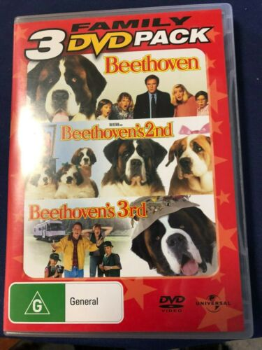 3 DVD Set Beethoven,Beethoven's 2nd and Beethoven's 3rd