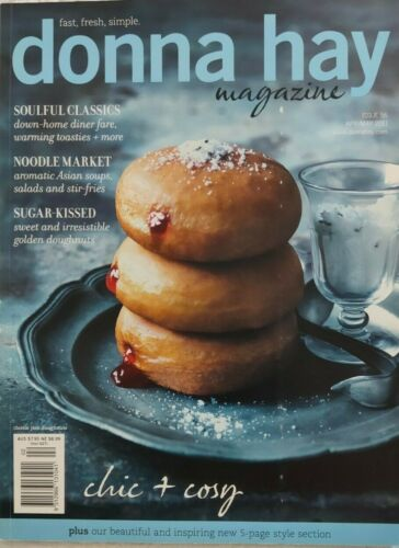 """Donna Hay Magazine ~ Issue #56 2011 ~ """"CHIC &  COSY"""" ~ VERY GOOD CONDITION"""