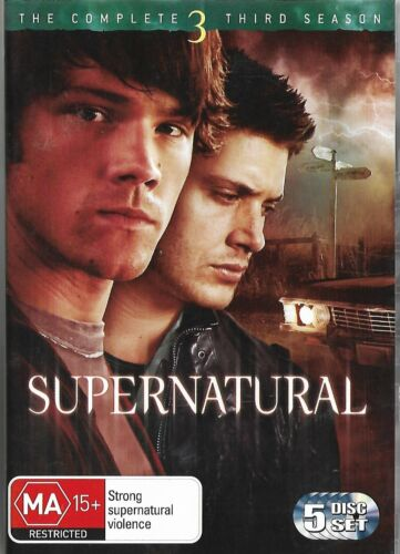Supernatural 5dvd set - The Complete Third / 3 Season (region 4)