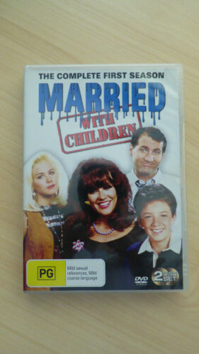 Married With Children Complete 1st Season 2-disc DVD Region 4 Ed O'Neill