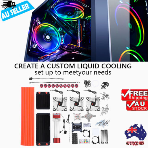 High Quality Computer Water-cooled Set PC Water Cooling Kit Parts Liquid Cool AU