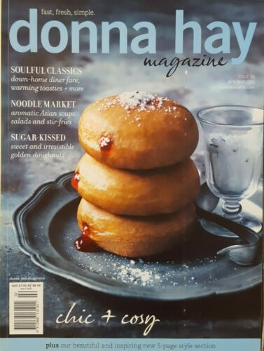 """Donna Hay Magazine ~ Issue #56 2011 ~ """"CHIC &  COSY"""" ~ VERY GOOD CONDITION B"""