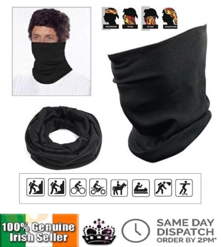 Thermal 3 in 1 Multi Use Neck Warmer Snood Face Mask Scarf Ring Winter Unisex  <br/> BEST SELLER ✅ FAST SHIPPING ✅ AMAZING QUALITY ✅ IRISH✅