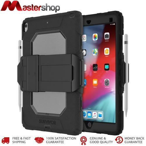 Griffin Survivor All Terrain Tough Case iPad Air 3 & Pro 10.5 - Black Clear