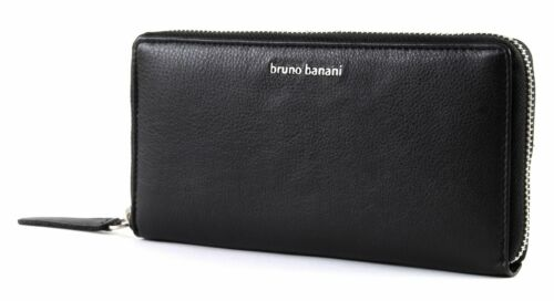 bruno banani Borsa Wallet with Zip Black