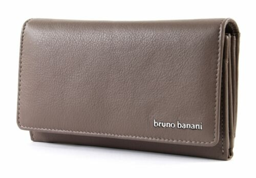 bruno banani Borsa Wallet with Flap Taupe