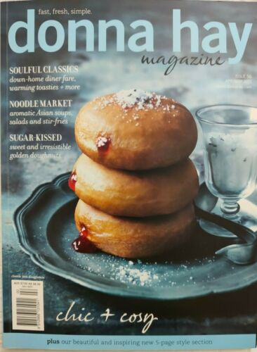 """Donna Hay Magazine ~ Issue #56 2011 ~ """"CHIC &  COSY"""" ~ Soulful Classics ~ GOOD"""