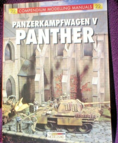 BOOK MILITARY WAR PANZERKAMPFWAGEN V PANTHER MODELLING FULLY ILLUSTRATED