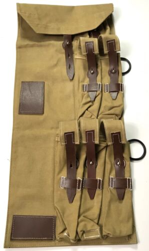 WWII GERMAN MP TAN CANVAS CARRY CASEGermany - 156432