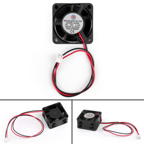 10x 40mm DC 12V Motor 2Pin 40x40x20mm Sleeve Cool Brushless Cooling Fan 4020S AU