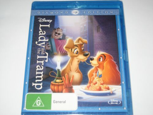 LADY AND THE TRAMP diamond edition BLU-RAY RB NEW/SEALED
