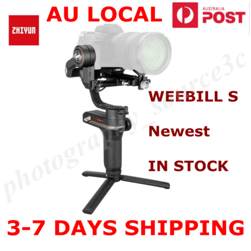 ZHIYUN WEEBILL S 3-Axis Gimbal Handheld Stabilizer For DSLR & Mirrorless Cameras <br/> IN Stock ✔DHL Shipping to US✔Original ✔1-Year Warranty✔