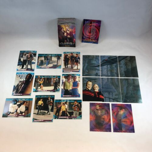 Sliders The TV Series Complete Embossed Chase Card Set 1-9
